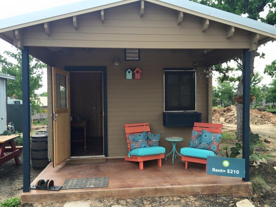 Austin Part II A Tiny House Community that Rocks A Tiny House
